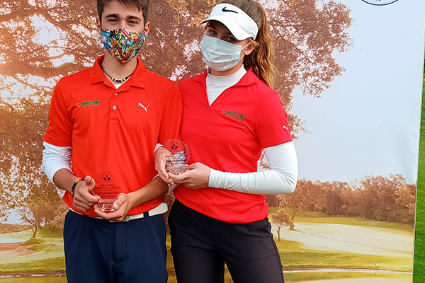 Dos grandes subcampeonatos en la Golf d'Aro International Cup WAGR