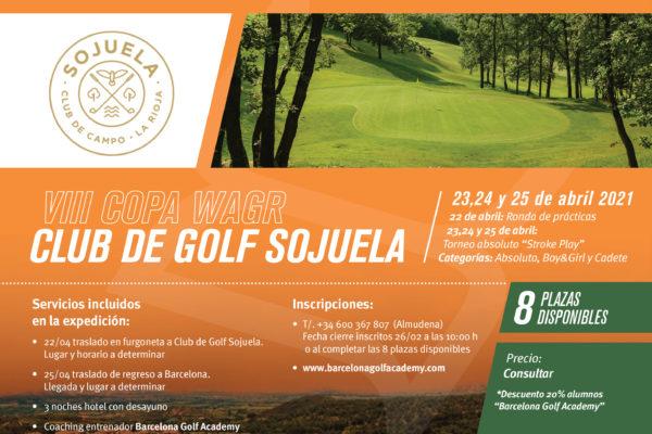 Del 23 al 25 de abril, expedición abierta a la VIII Copa WAGR en Sojuela