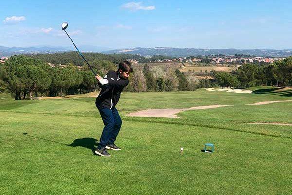 The Circuito Junior Miguel Ángel Jiménez was played in the Club de Golf Barcelona