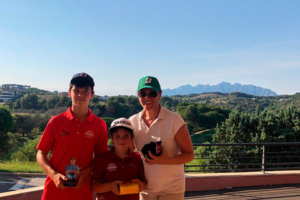 Photo gallery of the Family Golf Program 2021 of Barcelona Golf Academy