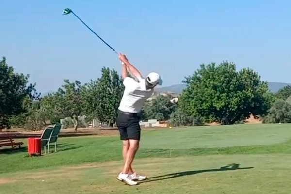 Enrico Rissi revives and almost wins the WAGR of Panoramica Golf