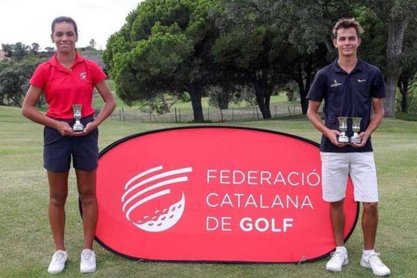 Daniela Campillo, runner-up Sub-16 of Catalonia Championship 2021 in Golf d'Aro