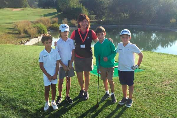 Present at the Triangular Alevin-Benjamin by couples at Can Cuyas Golf