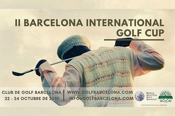 The 2nd Barcelona International Golf Cup WAGR arrives at the Club de Golf Barcelona